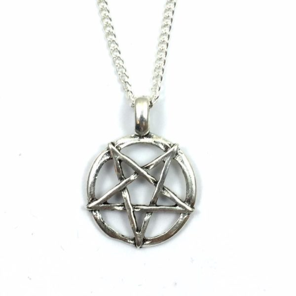 Inverted Pentacle Necklace - Supernatural