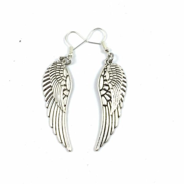 Wing Earrings - Double wings