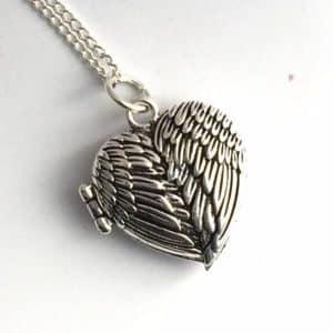 Wings Locket Necklace