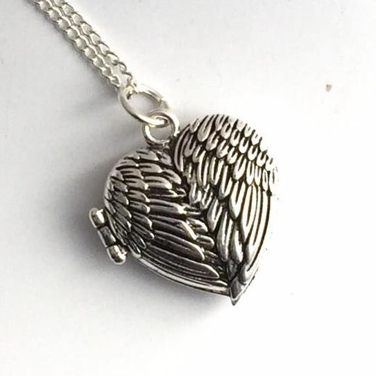 Wings Locket Necklace