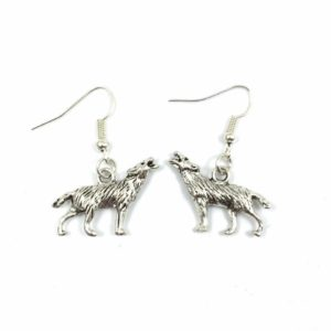 Wolf Earrings (Direwolf)